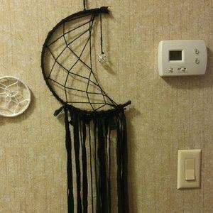 Black Half Moon Dreamcatcher
